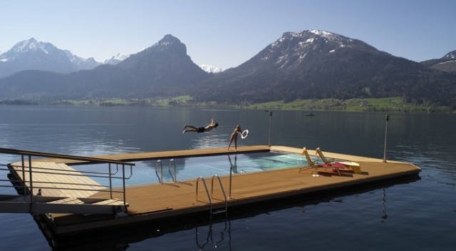 baden im trinkwasser weisses r ssl am wolfgangsee hotel4home magazin. Black Bedroom Furniture Sets. Home Design Ideas
