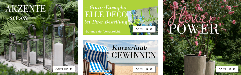 Laternen, Elle Decoration, Gewinnspiel, Flower Power