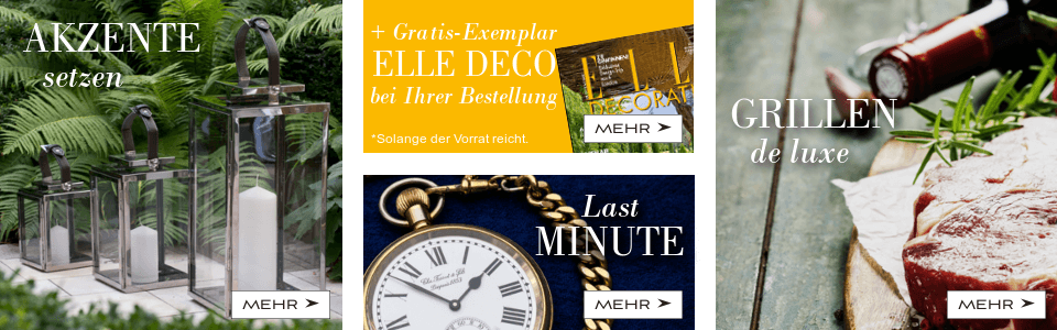 Laternen, Elle Decoration, Last Minute, Otto Gourmet