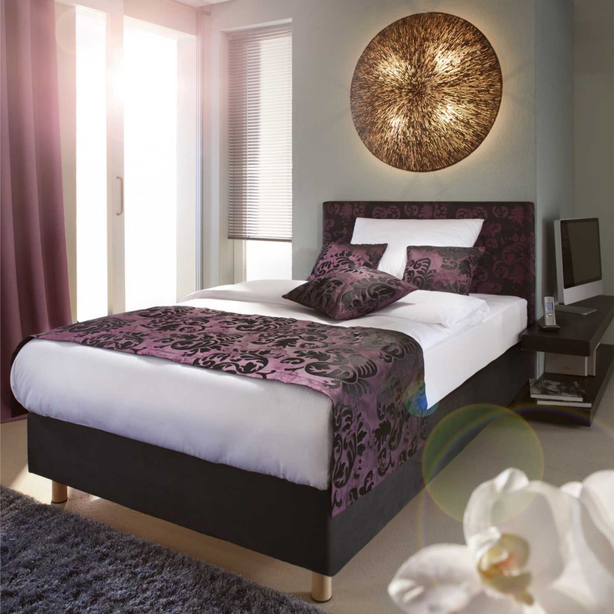 fbf savoy classic hotel boxspringbett l nge 200 cm hotel4home. Black Bedroom Furniture Sets. Home Design Ideas